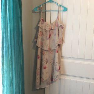 A New Day Asymmetrical Floral Dress